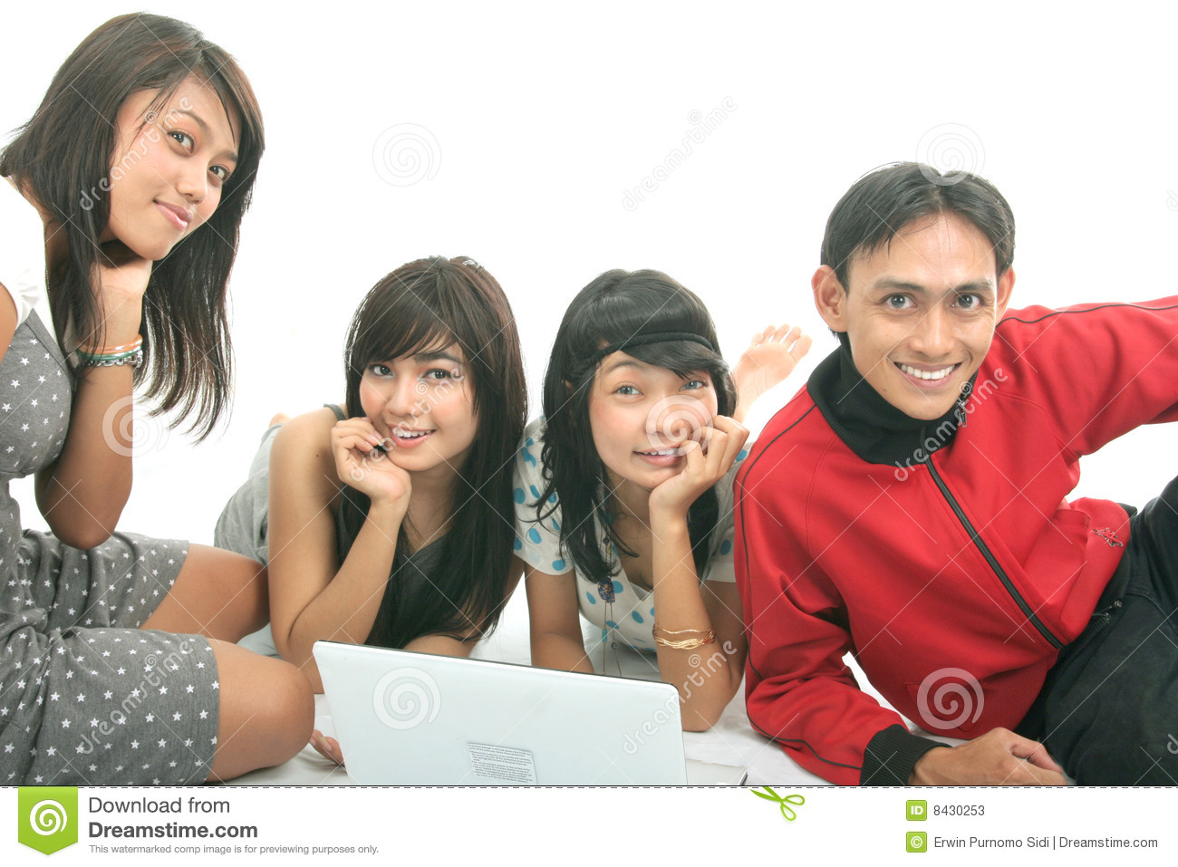 Group of student