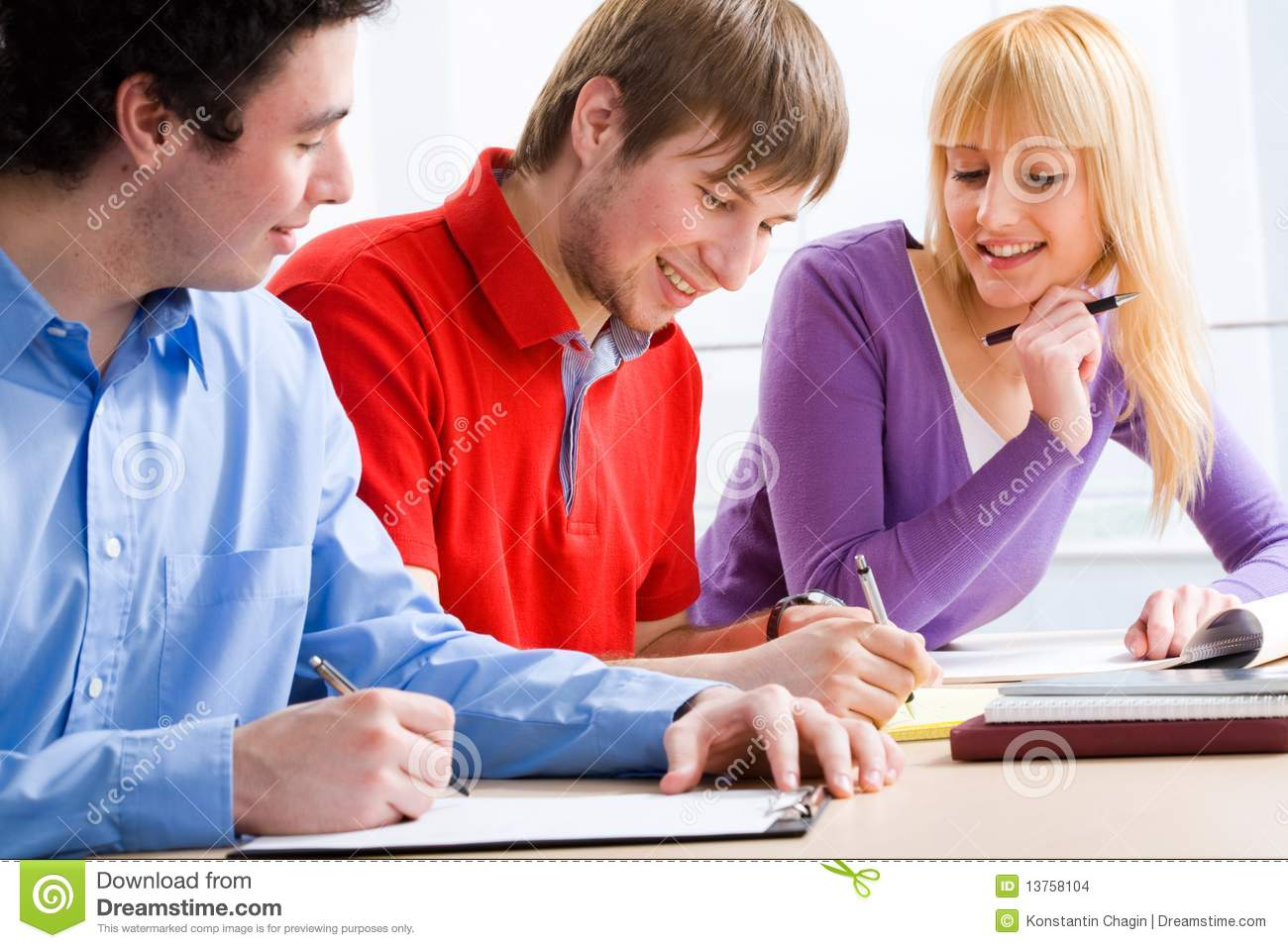 Group Of Students Stock Images - Image: 13758104