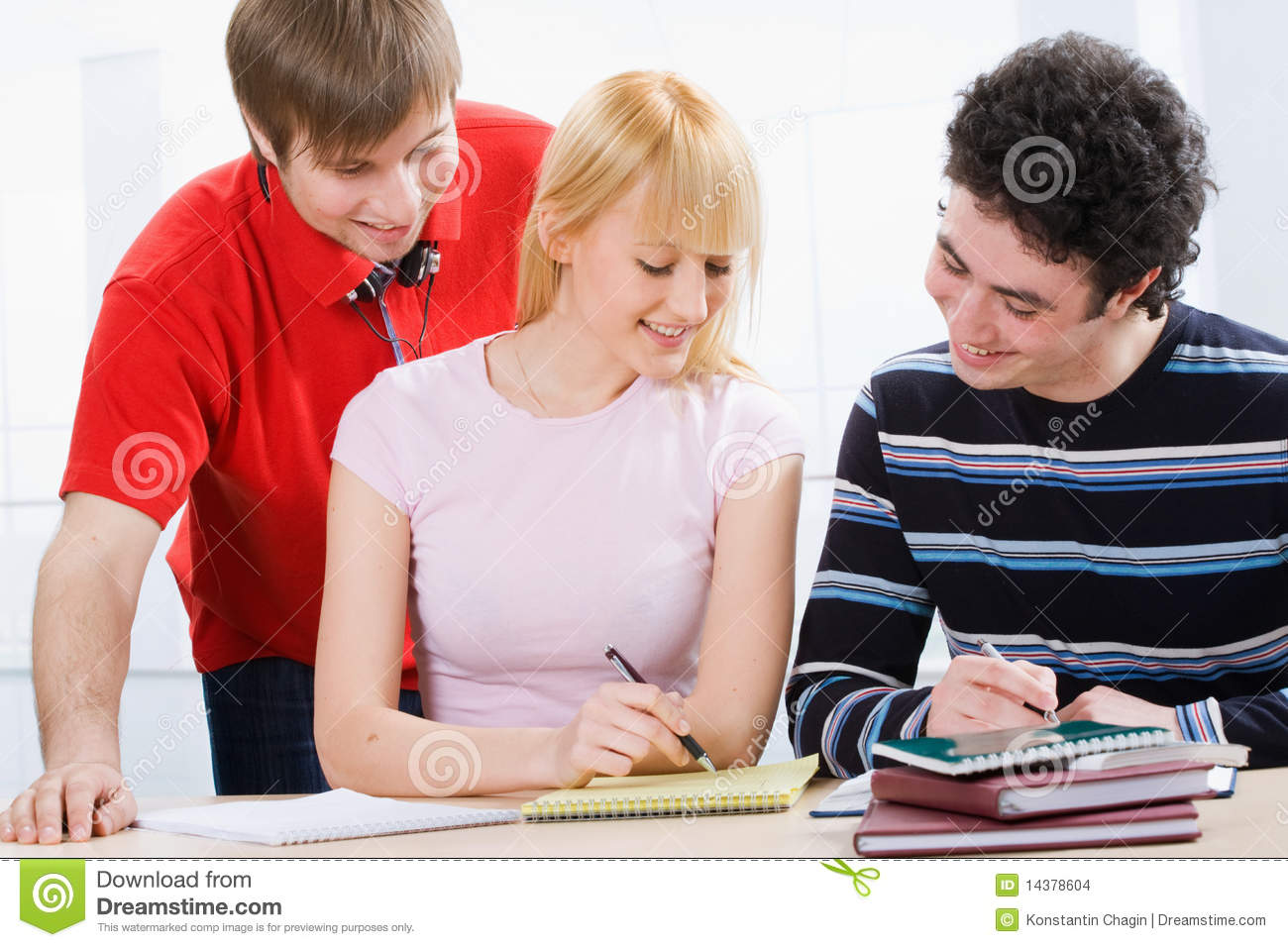 Group Of Students Stock Images - Image: 14378604
