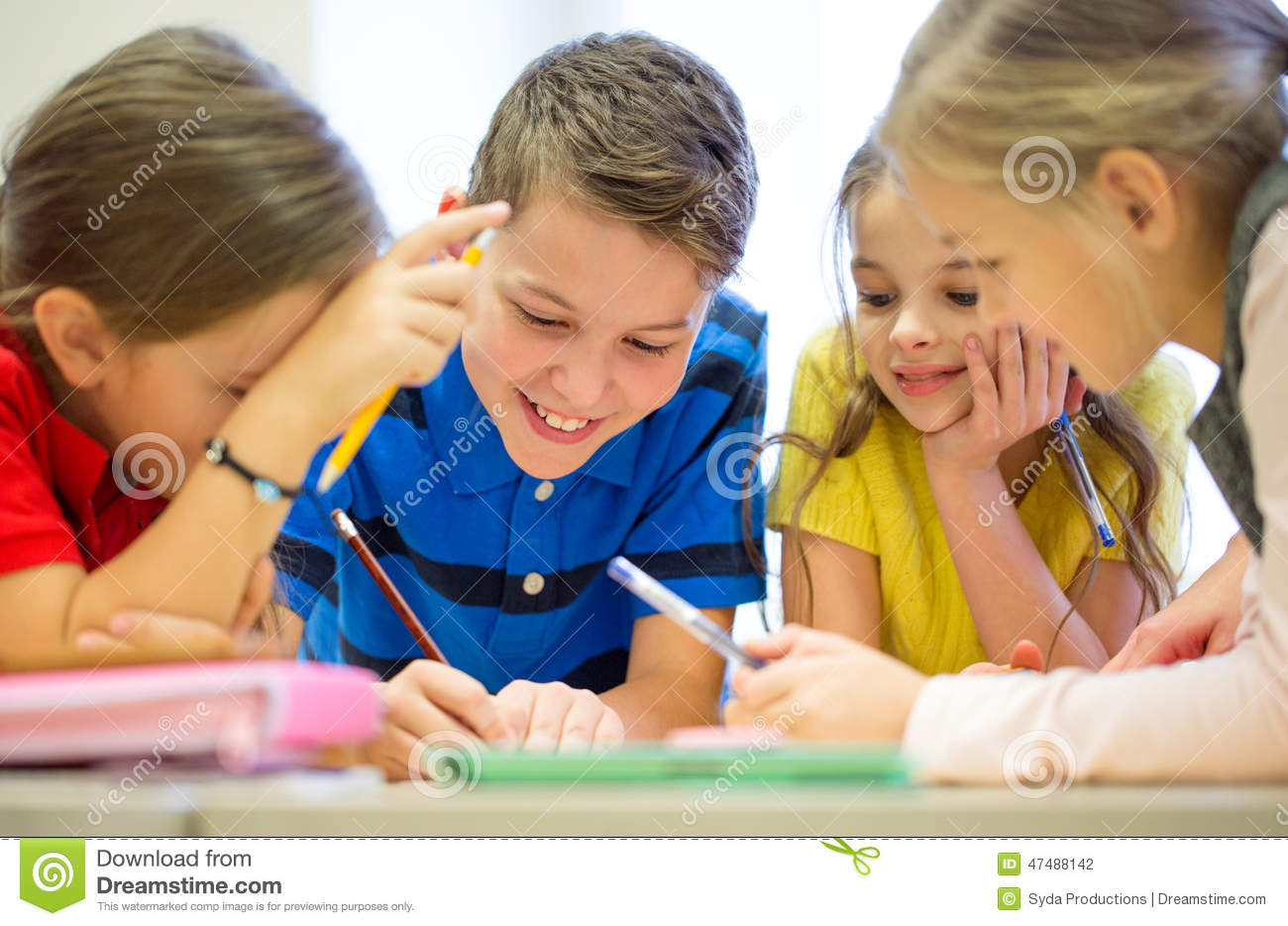 essay writing school children