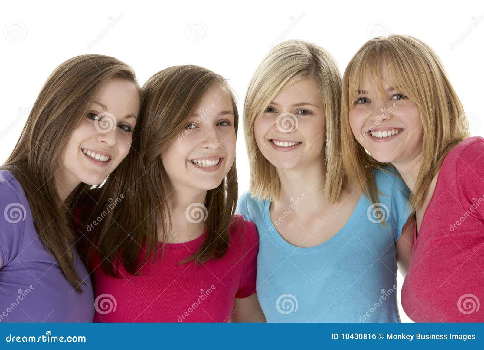 Студийные фото девочек подростков 9 фотография