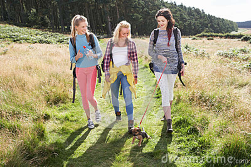 Hiking Girl Images