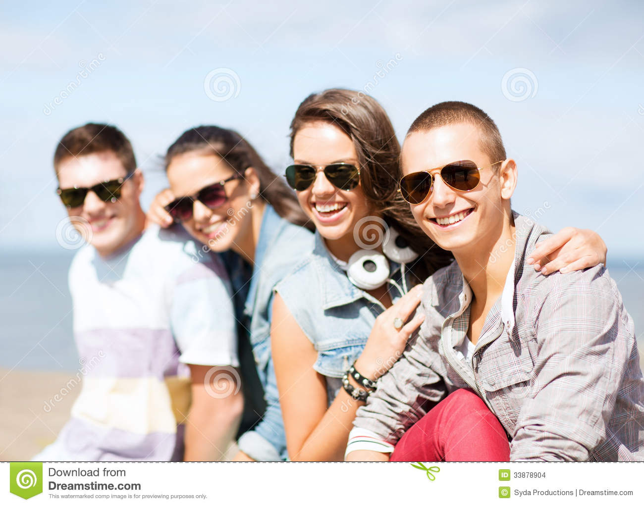 Group of teenagers hanging out stock images image 33878904 for Hanging groups of pictures