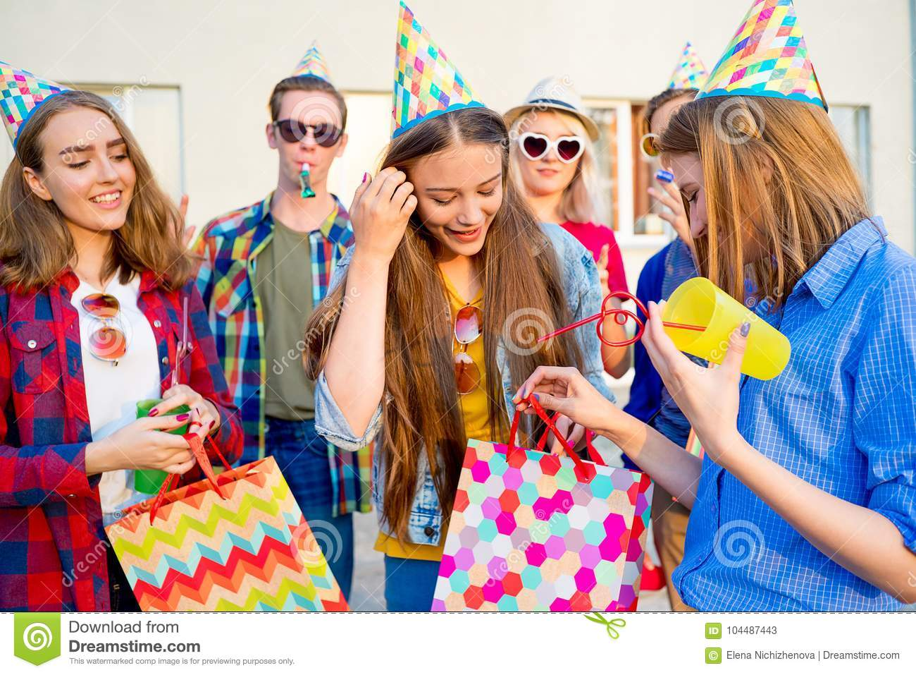 teens having a party stock image image of friends gathering