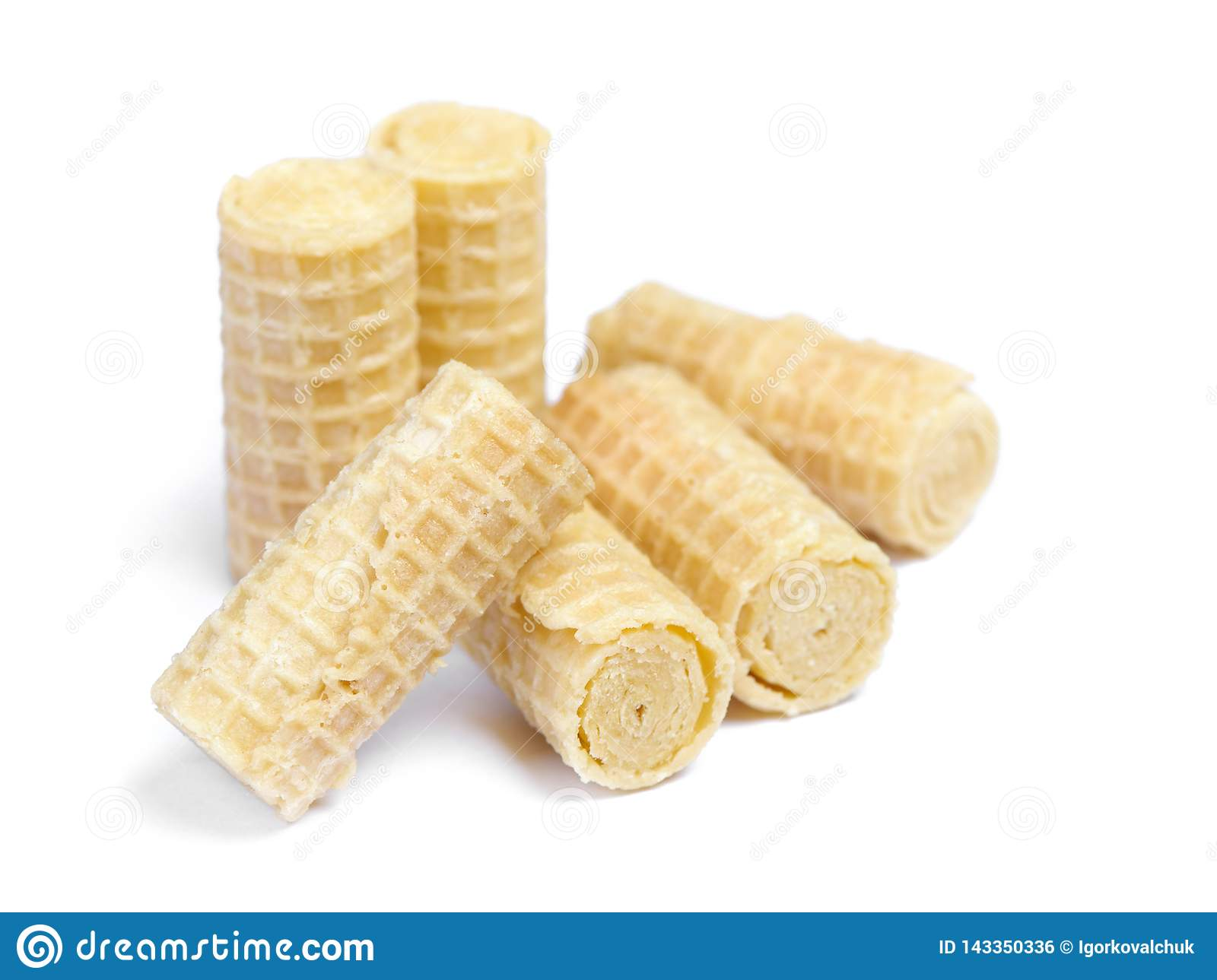 Group of wafer rolls