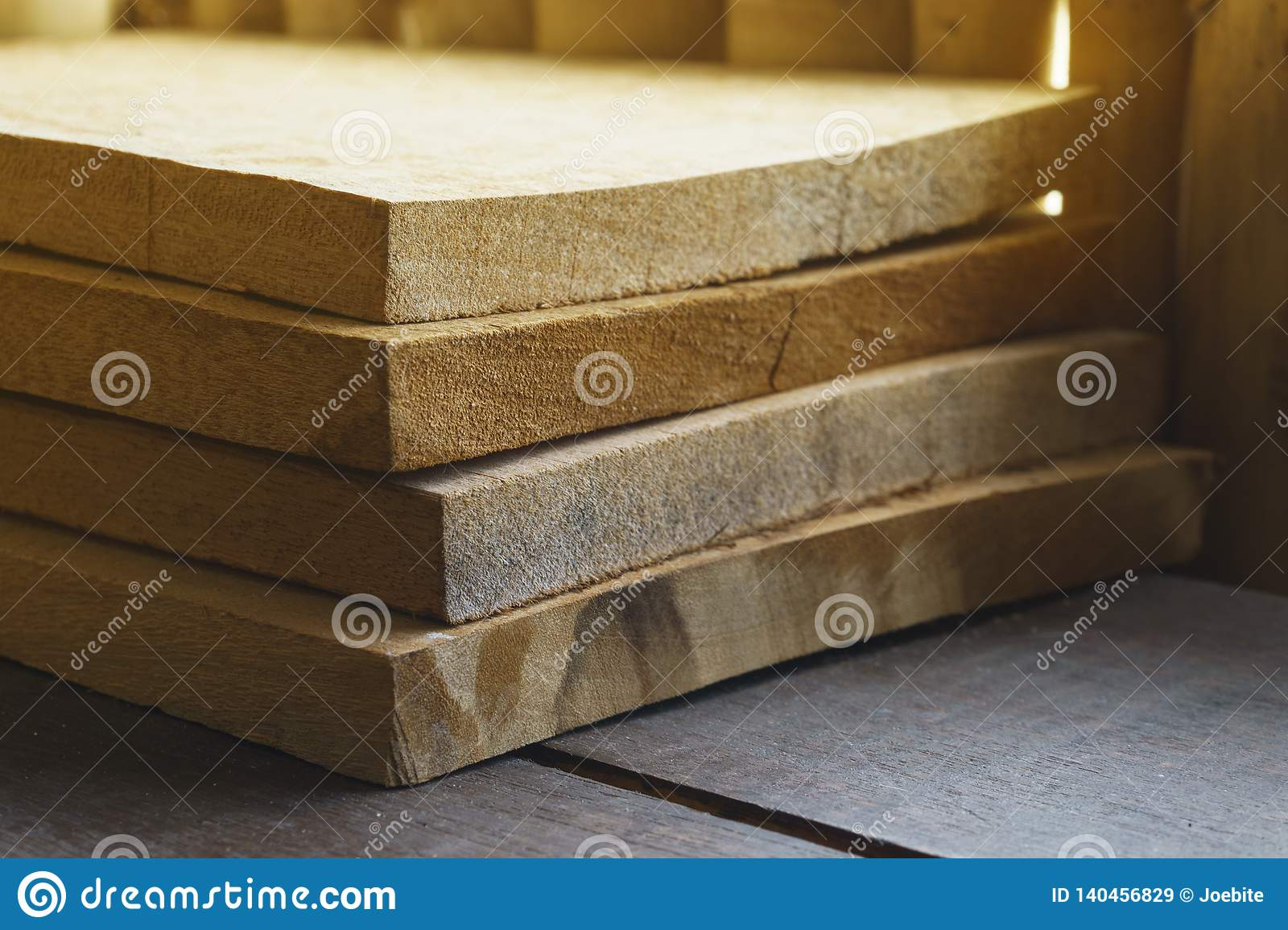 Group of wooden tile pieces