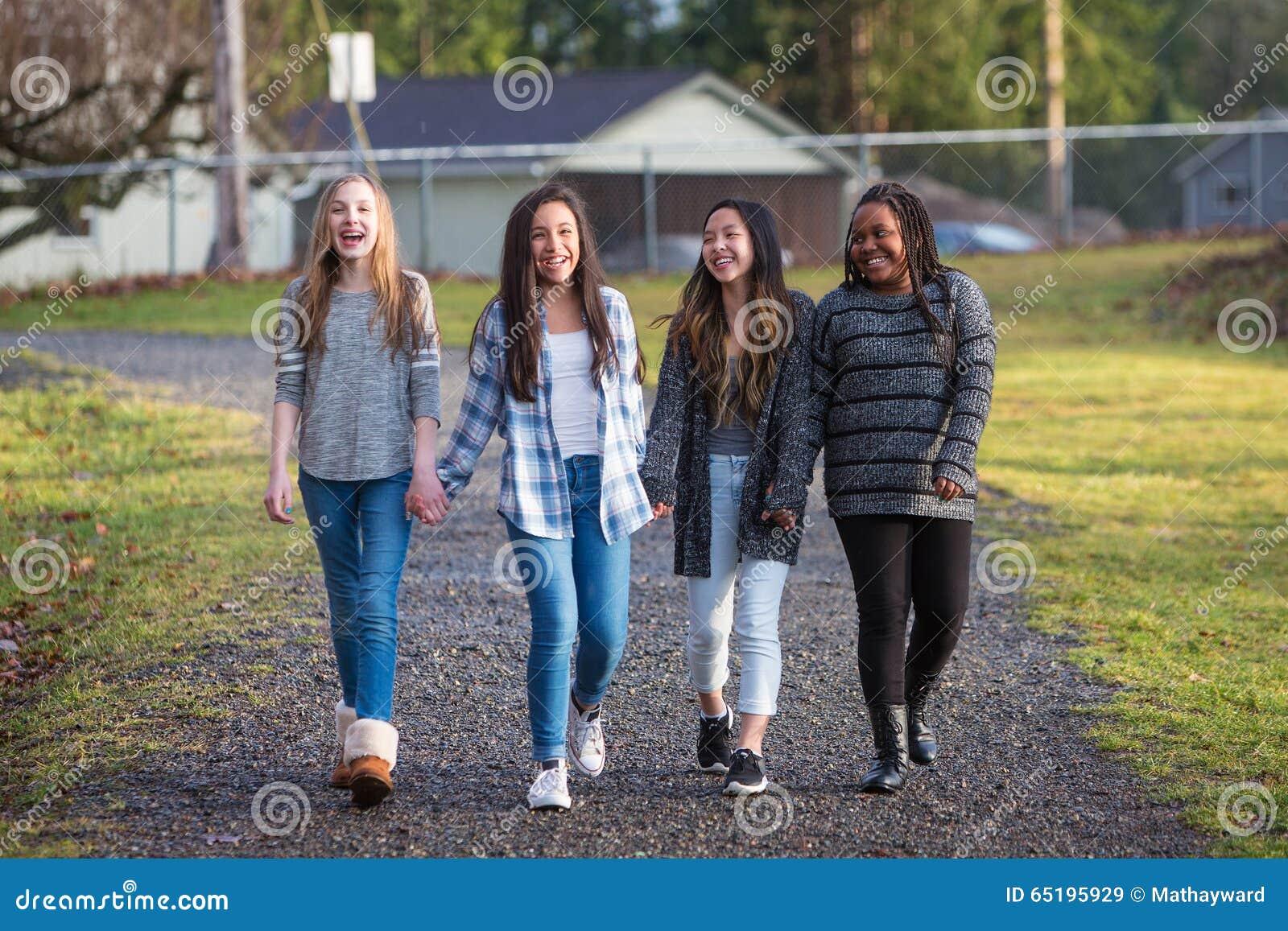 girls while