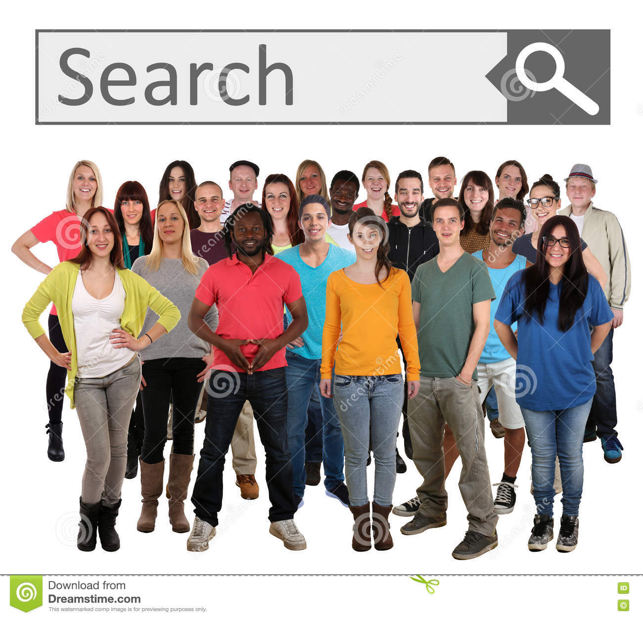 Adult group search engine