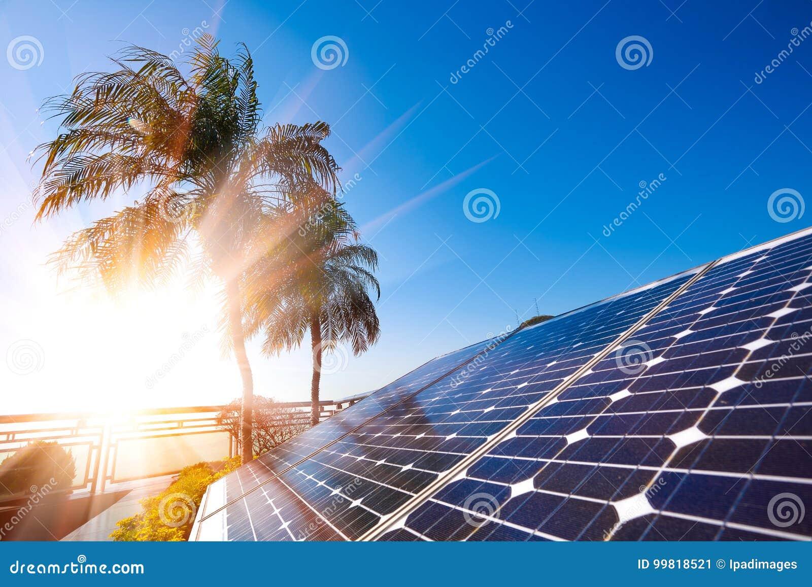 Groupe électrogène à énergie solaire pour le développement durable