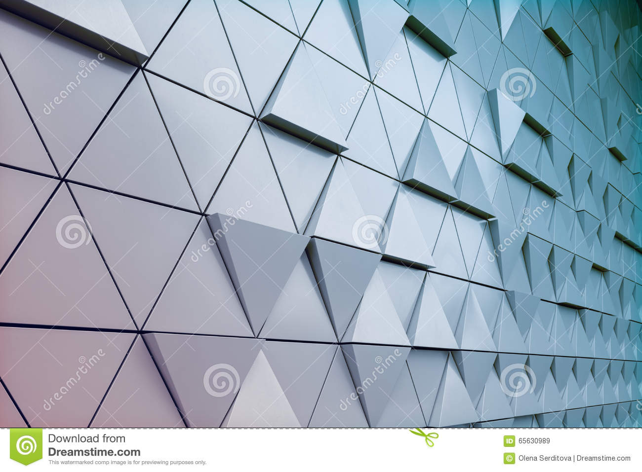 Groupe architectural abstrait