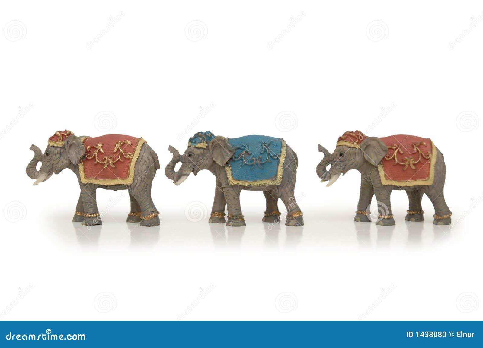 Groupe d éléphants