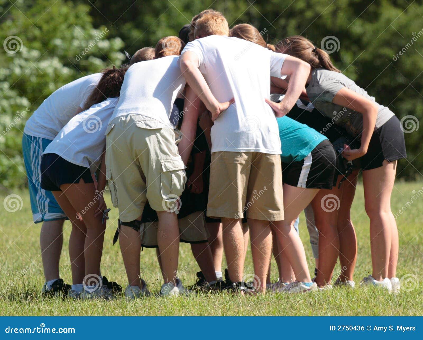 Groupe d équipe de sports