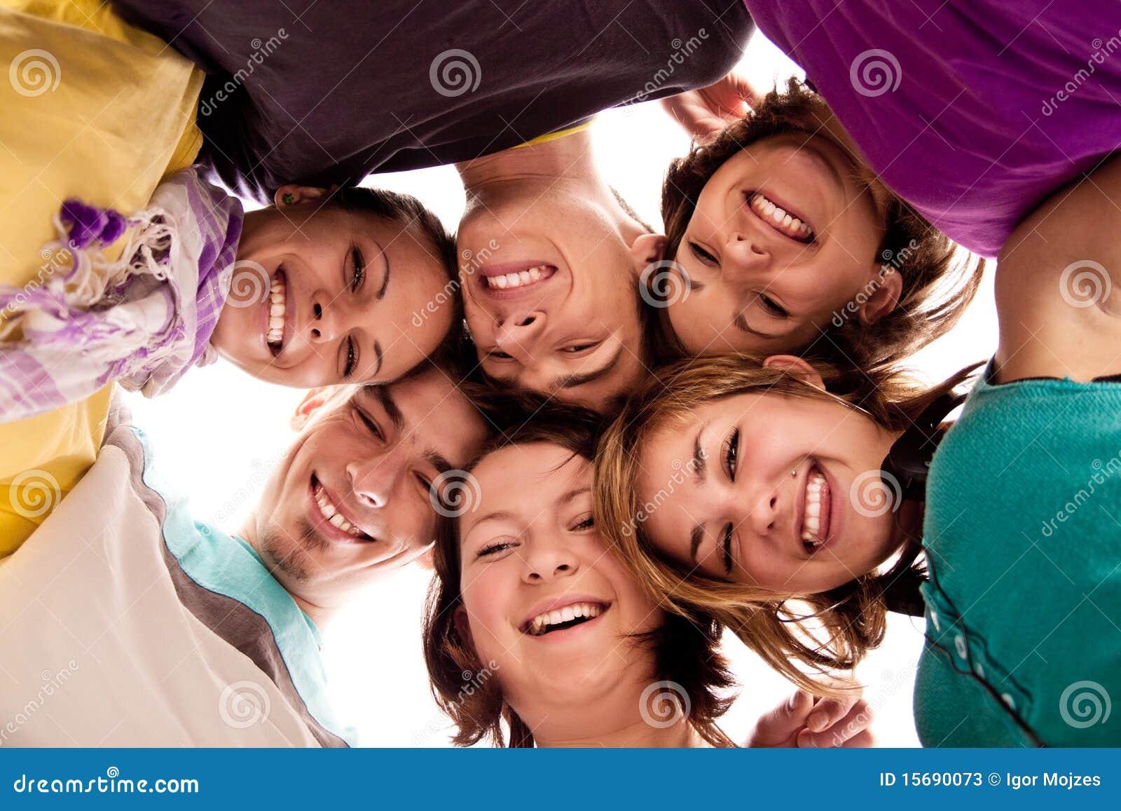Adolescents ah vidéo pouces adolescent