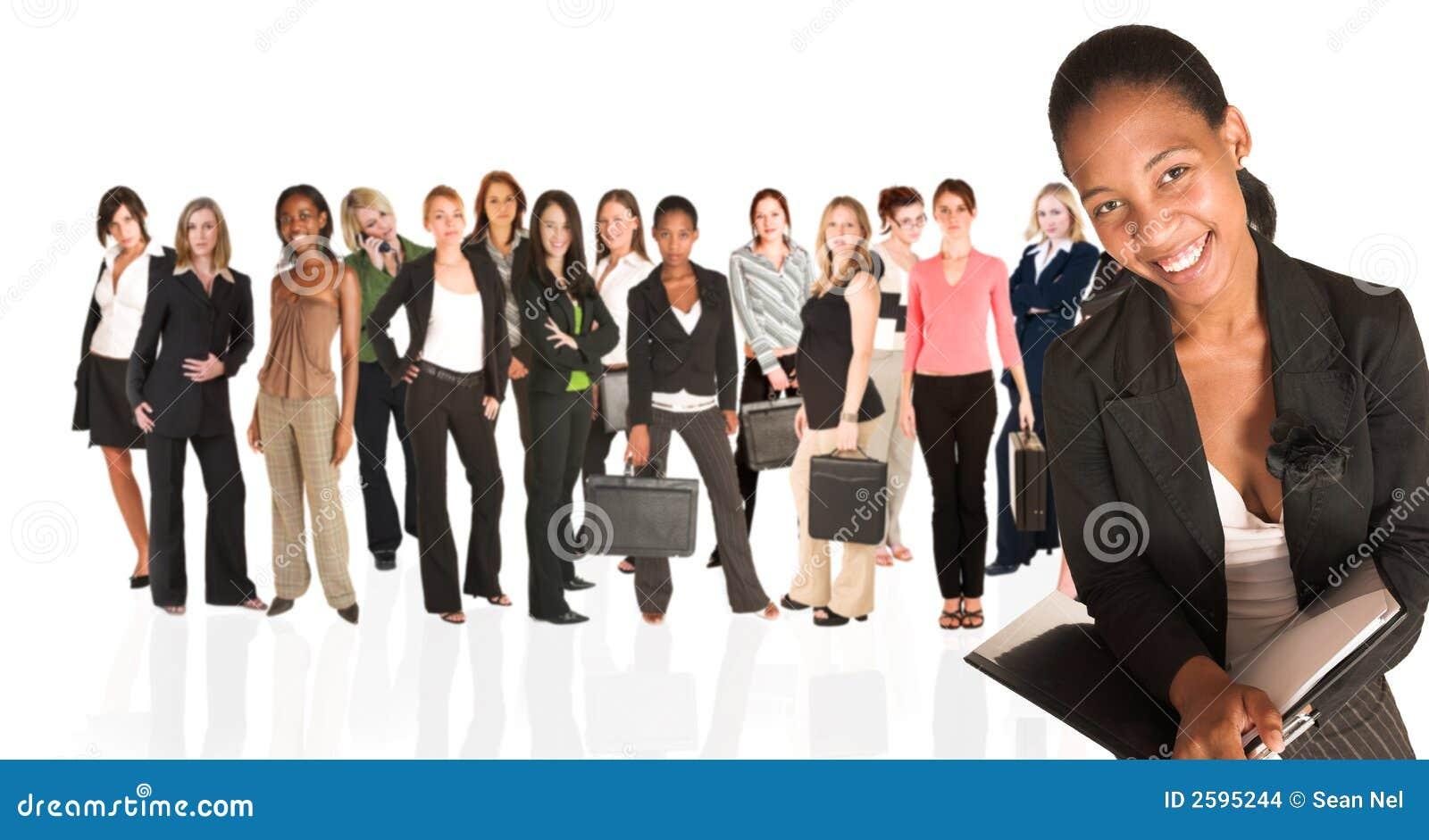 Groupe d affaires de femme seulement