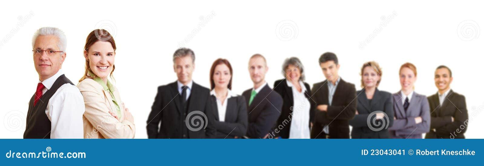 Groupe d avocats dans une équipe