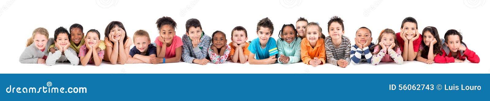 Groupe d enfants