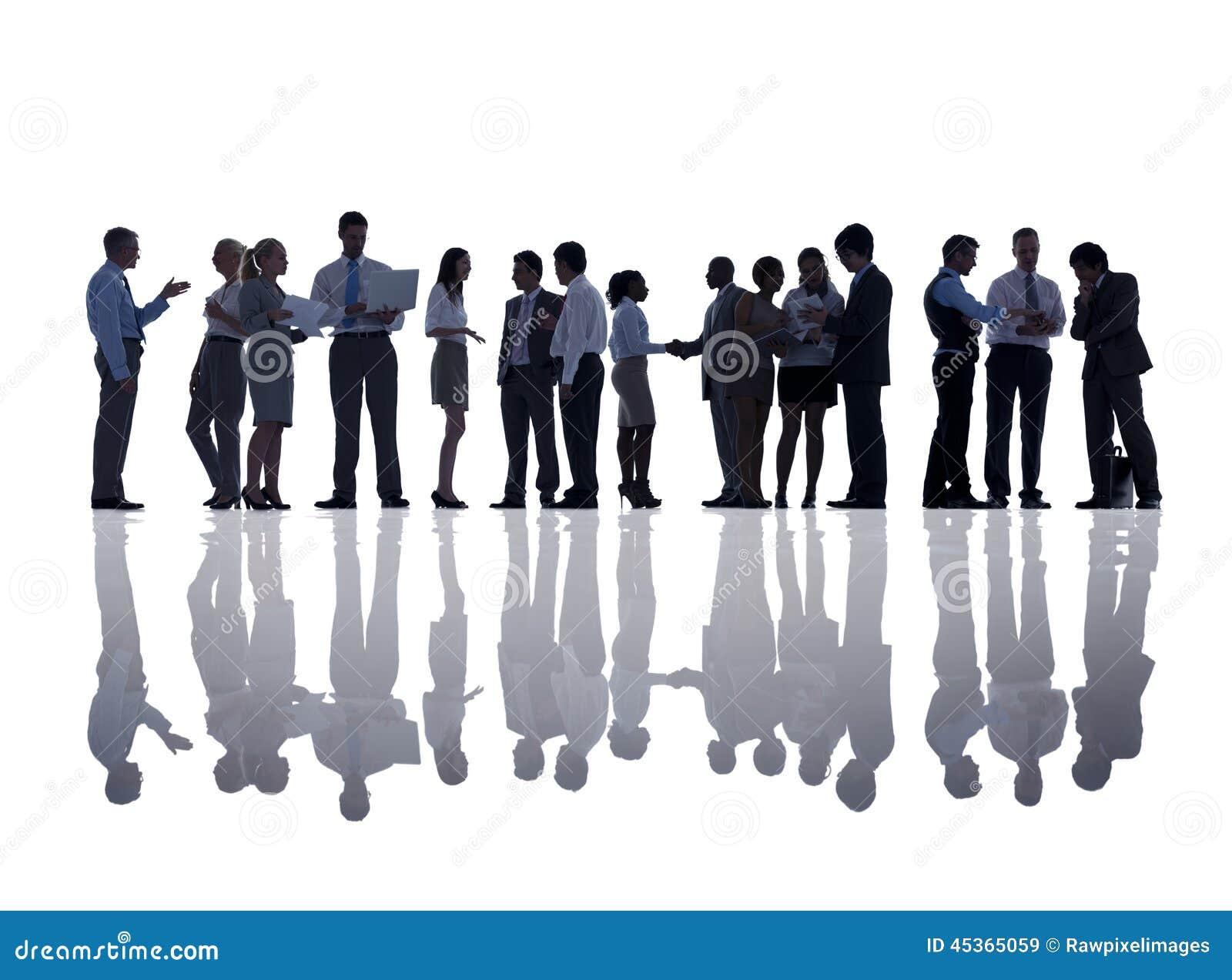 Groupe de gens d affaires de se réunir