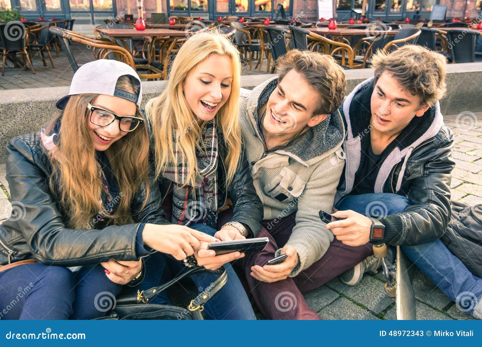 Jeux de groupe de jeunes