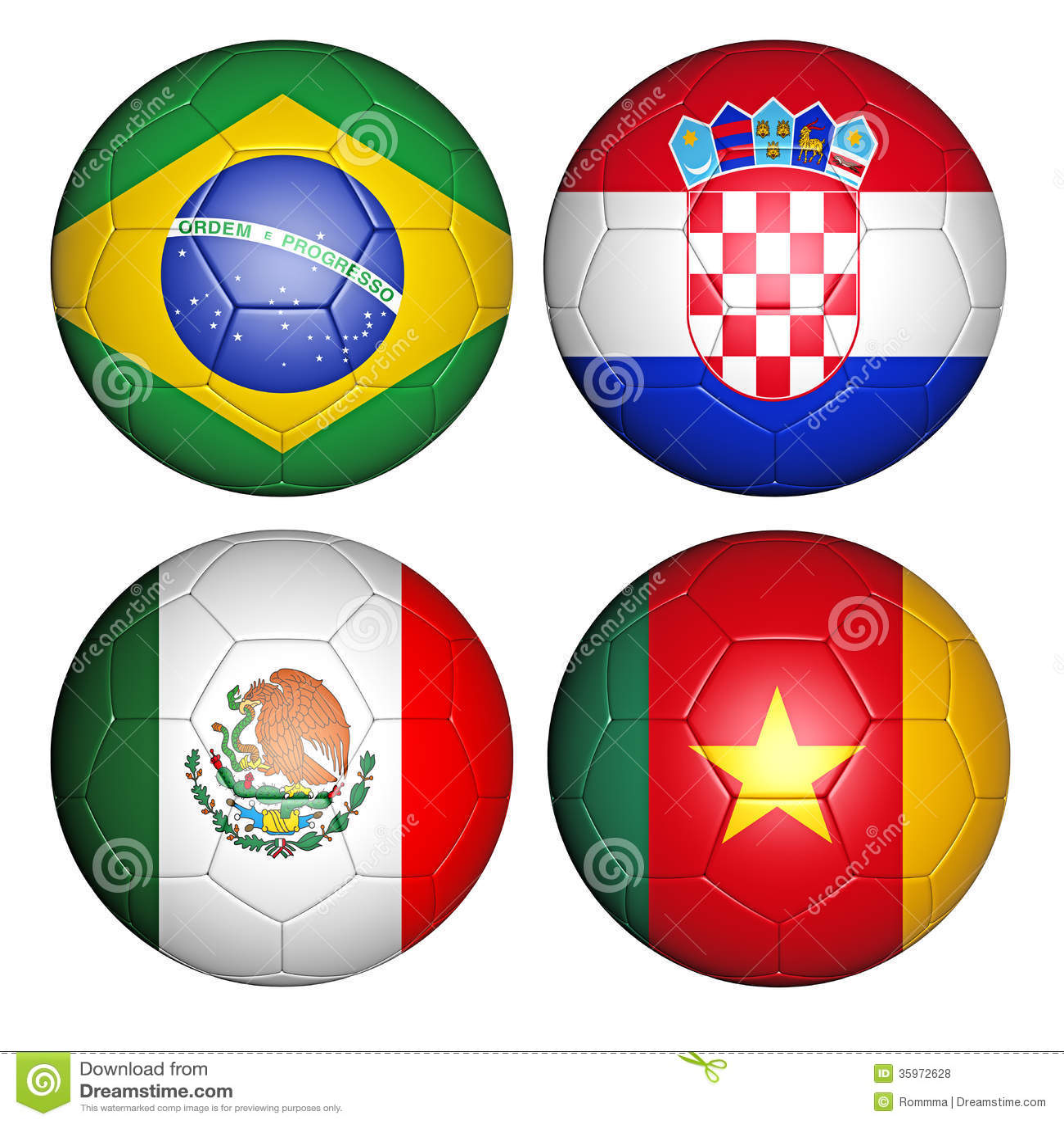 Groupe a de la coupe du monde 2014 illustration stock illustration du dimensionnel brazil - Groupes coupe du monde 2014 ...