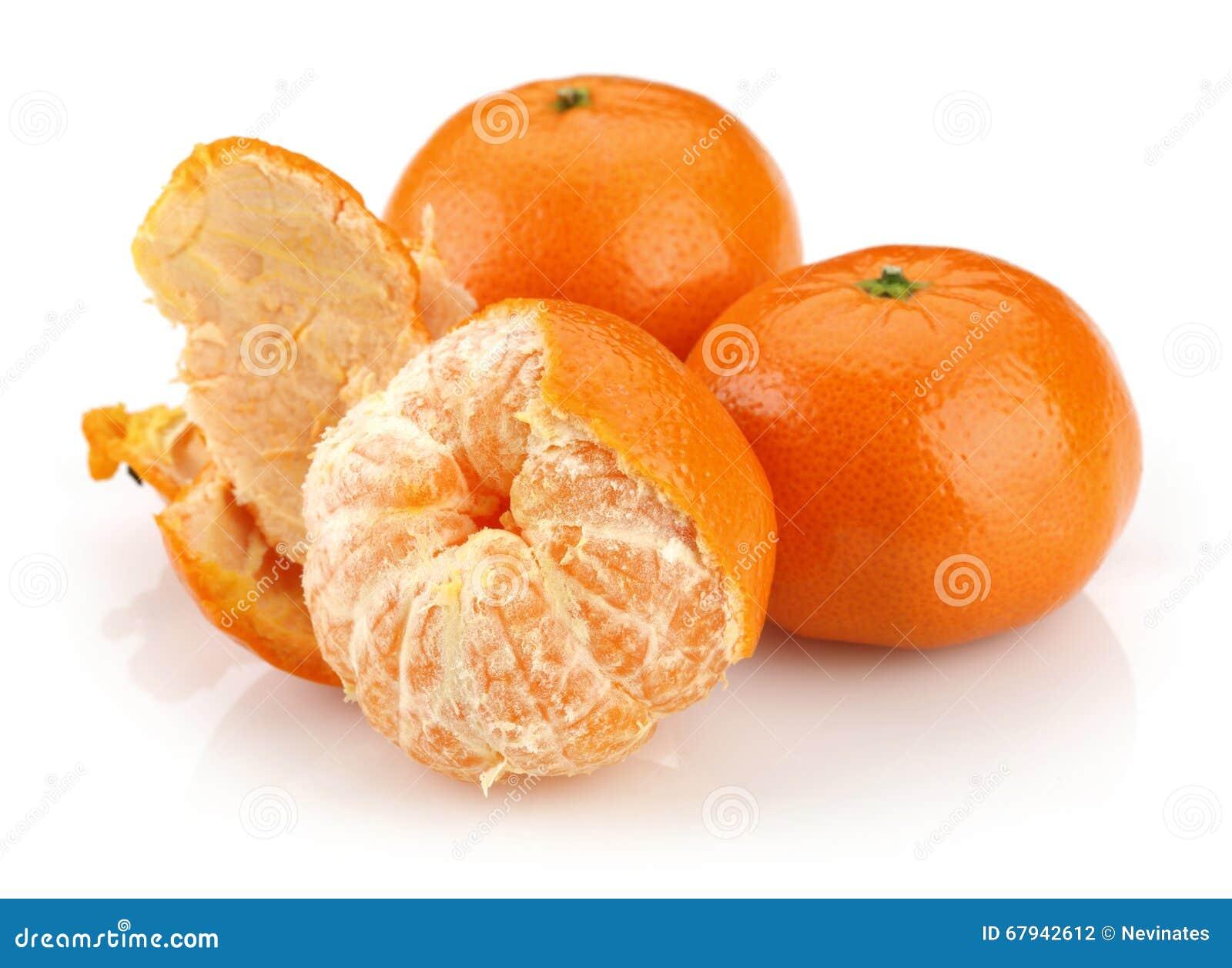 Groupe de mandarine
