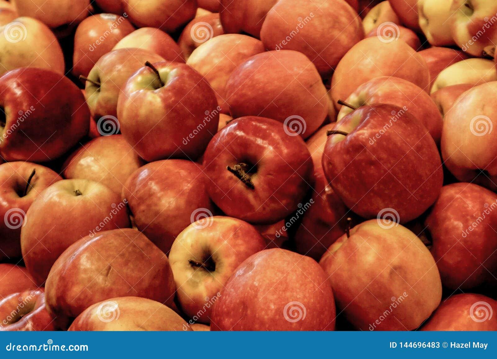 Groupe de pommes