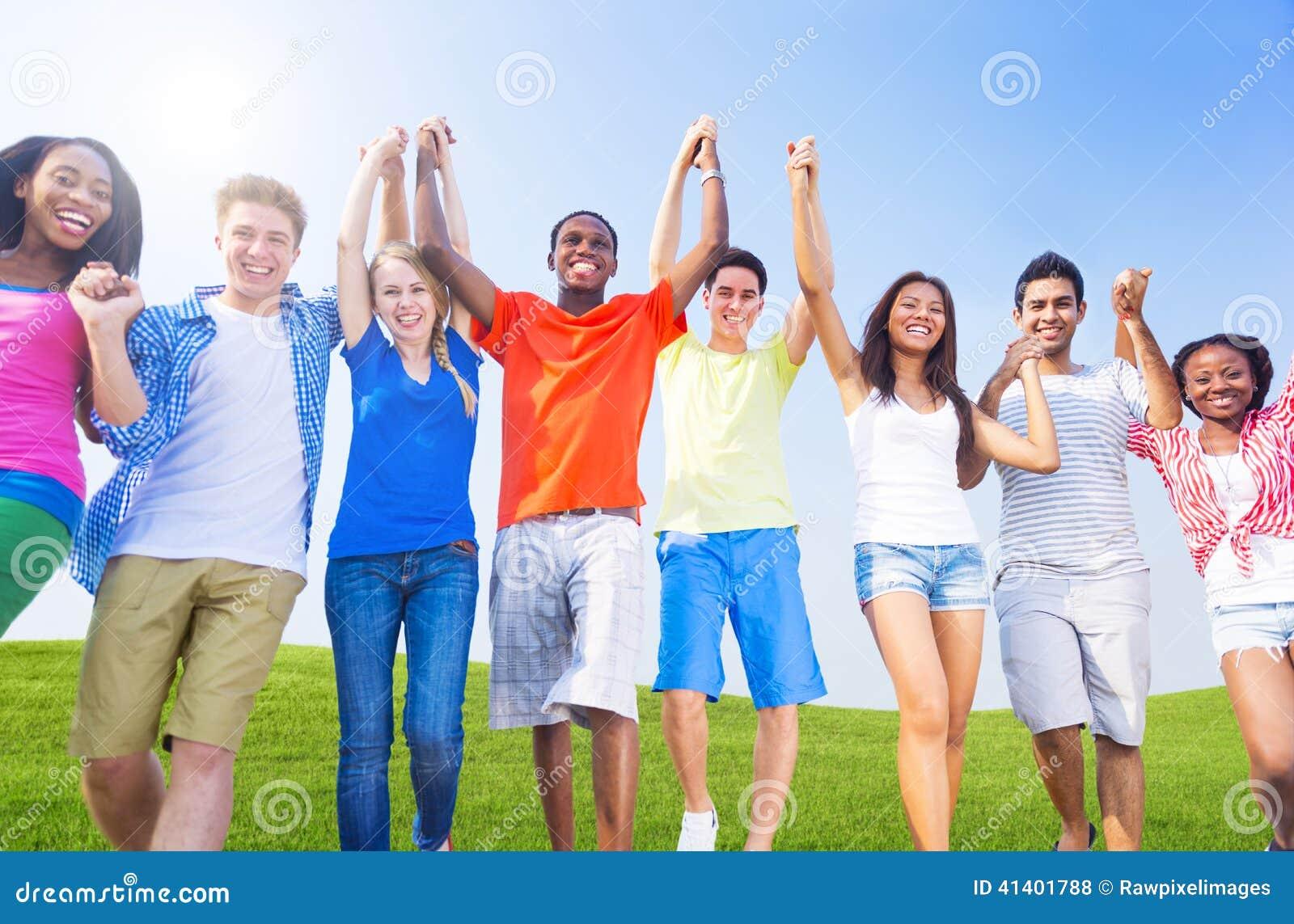 Groupe des jeunes gais divers