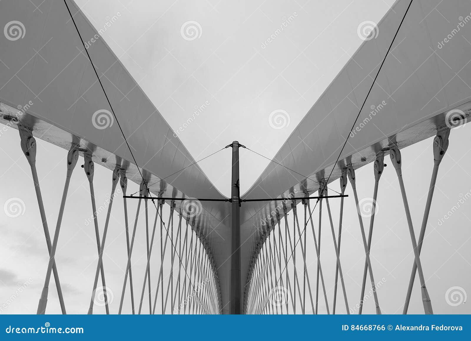 Groupe moderne d architecture Fond abstrait d architecture, noir et blanc