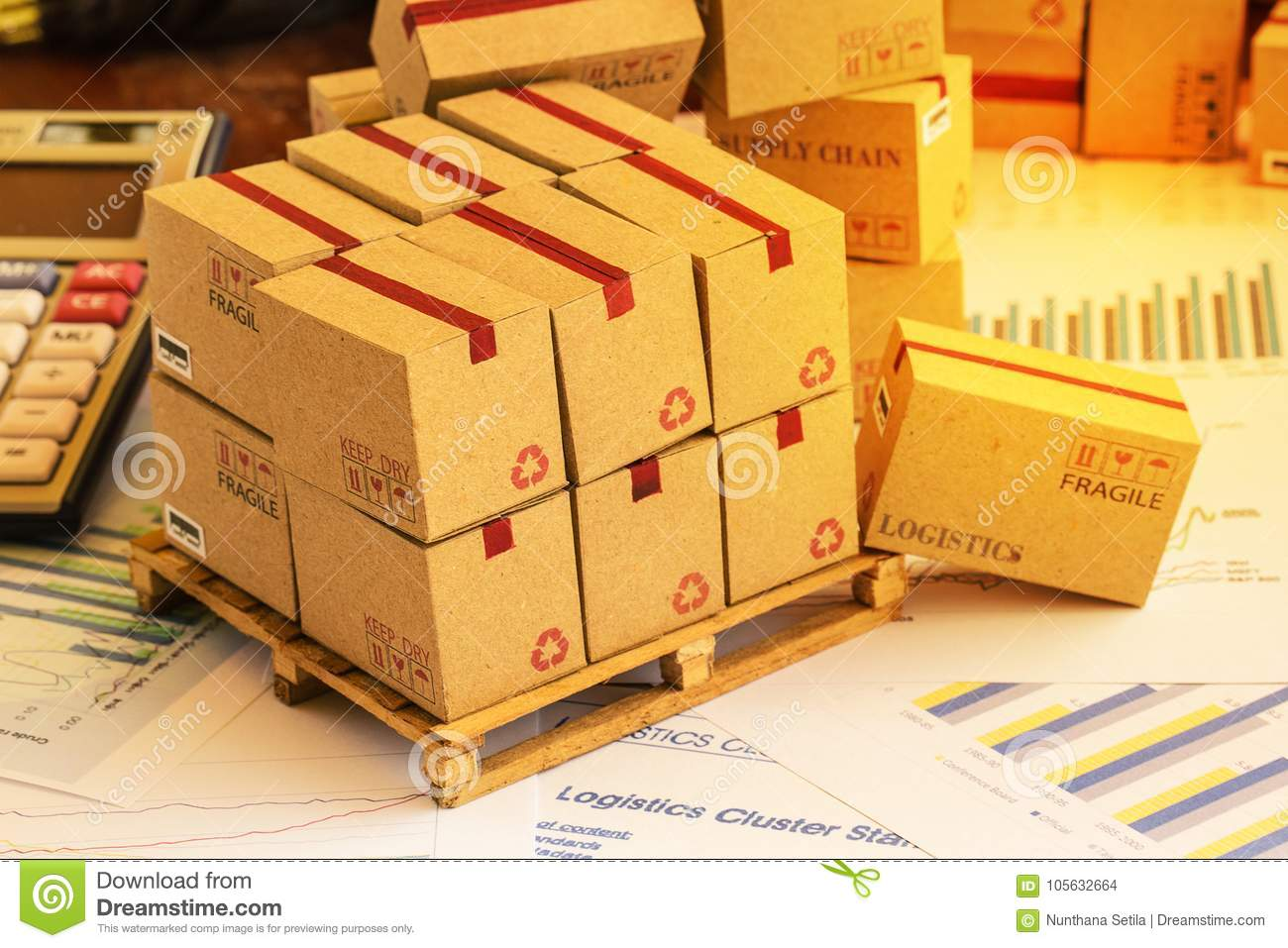 Grouping Of Financial Investment Products On Wood Pallet. Ideas ...