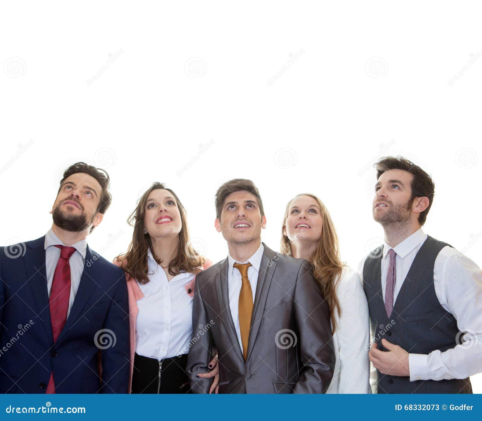 Groupof ludzie biznesu