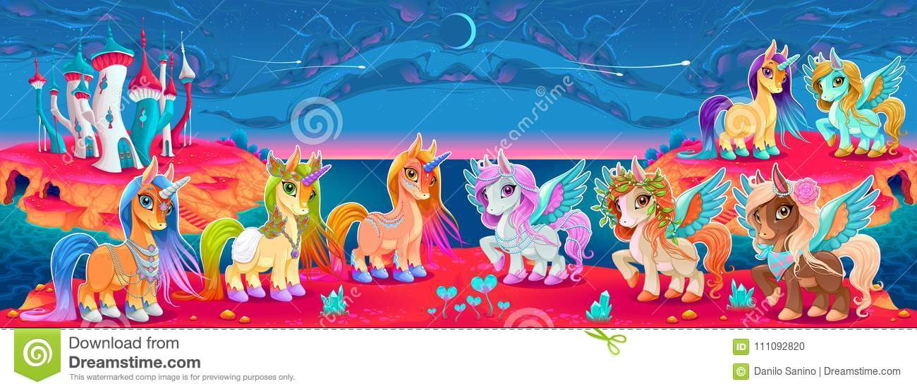 Pegasus Cartoons Illustrations Amp Vector Stock Images