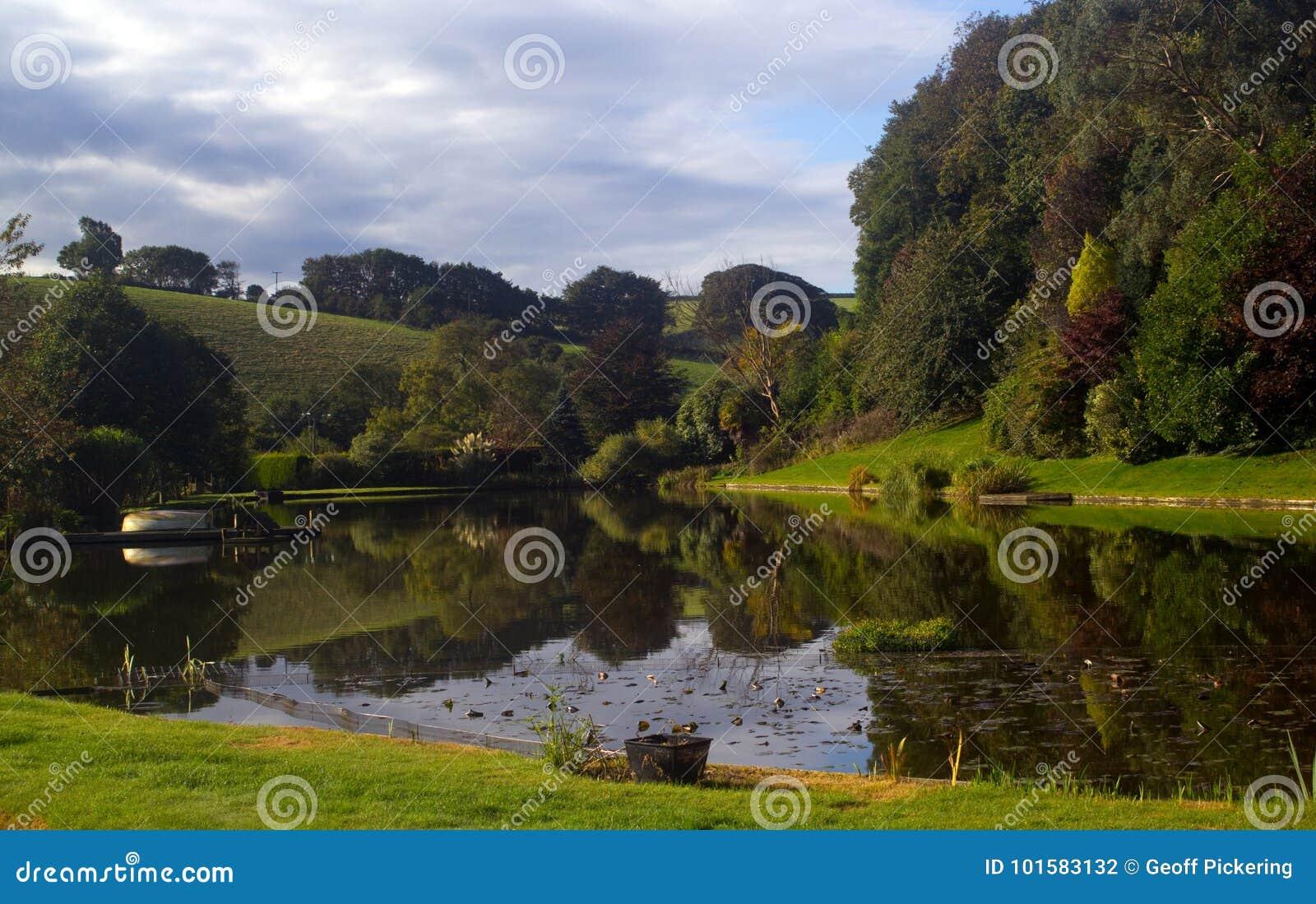 Grov fiske sjö