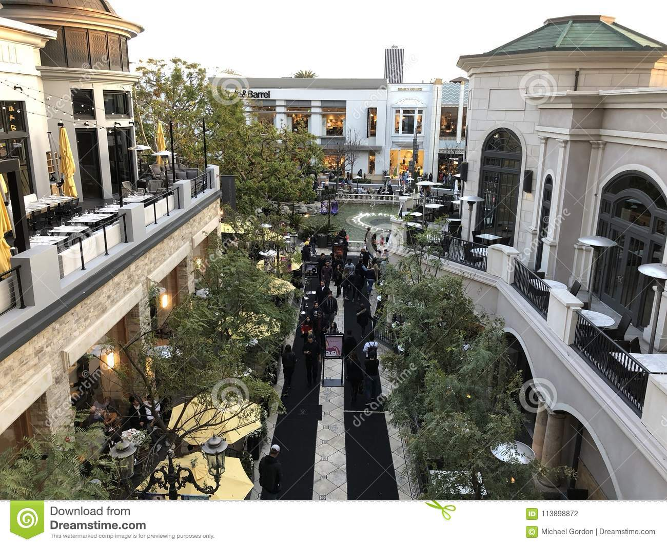 The Grove Shopping Mall In Los Angeles. Editorial Photography ... on the grove at farmers market, the grove mall pretoria, third street promenade, otay ranch town center, westfield topanga, the grove mall in california, south coast plaza, the grove beverly hills, los angeles sports and entertainment district, the grove trolley, the grove santa, westfield century city, the grove wesley chapel, sunrise mall, the improv, universal citywalk, the grove shopping center, santa monica place, the grove shopping mall, glendale galleria, the grove 3rd street, cbs television city, del amo fashion center, the beverly center, the grove ca, the grove movie theater, fashion island, the grove in hollywood, the grove la, angels flight, the grove fountain, americana at brand,