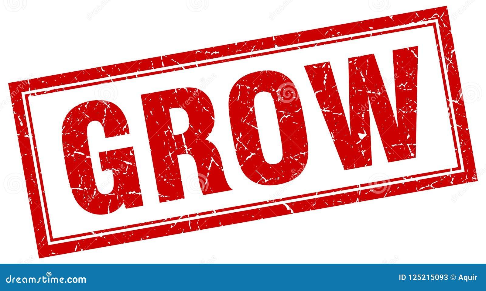 grow stamp