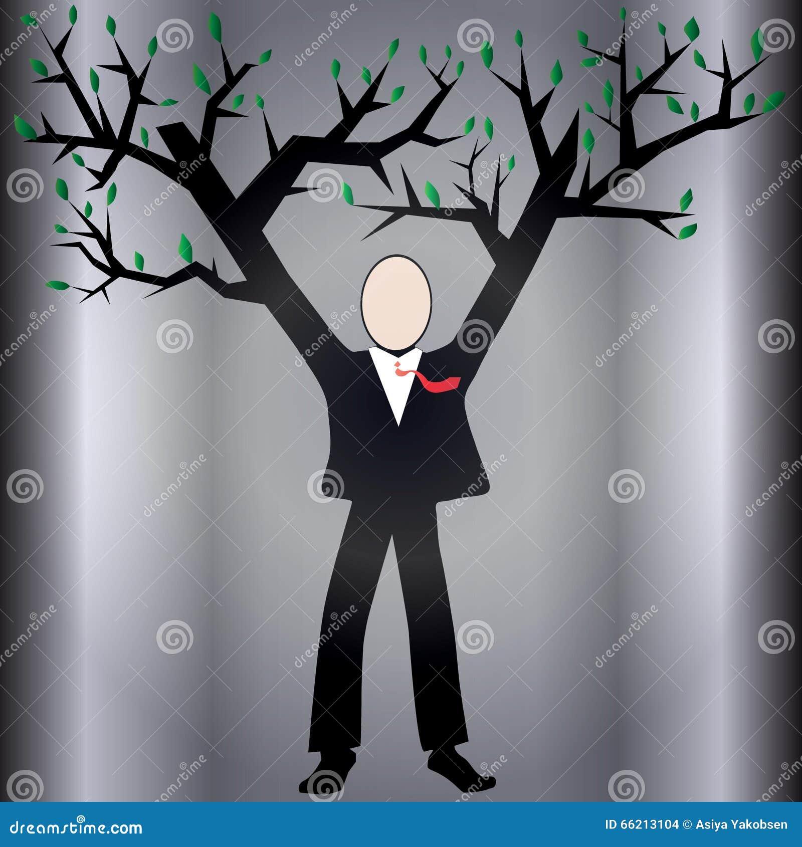 Growing business stock illustration. Illustration of hands - 66213104
