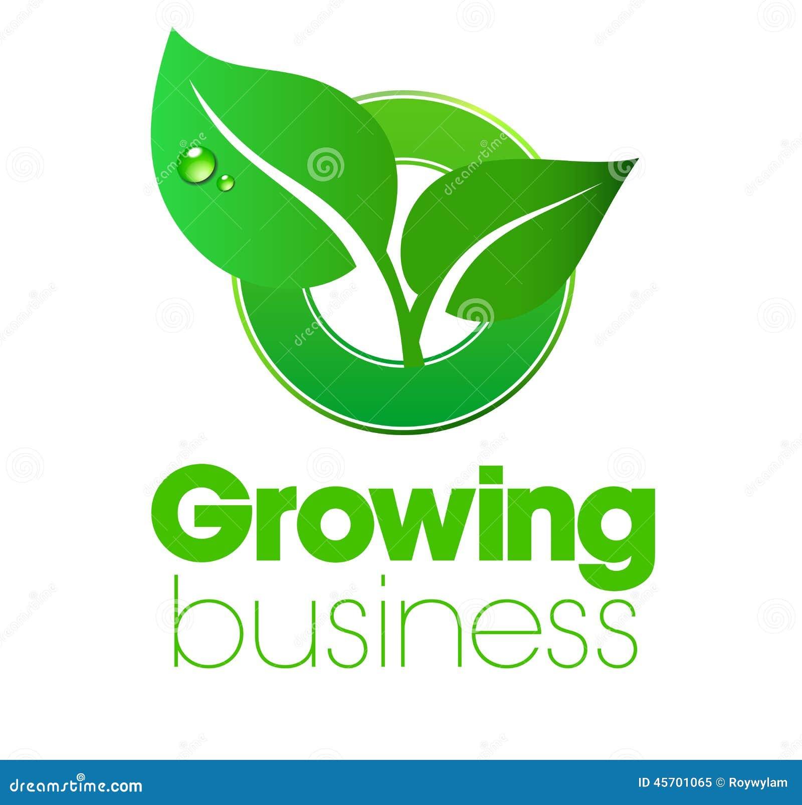 Growing Logo Stock Vector