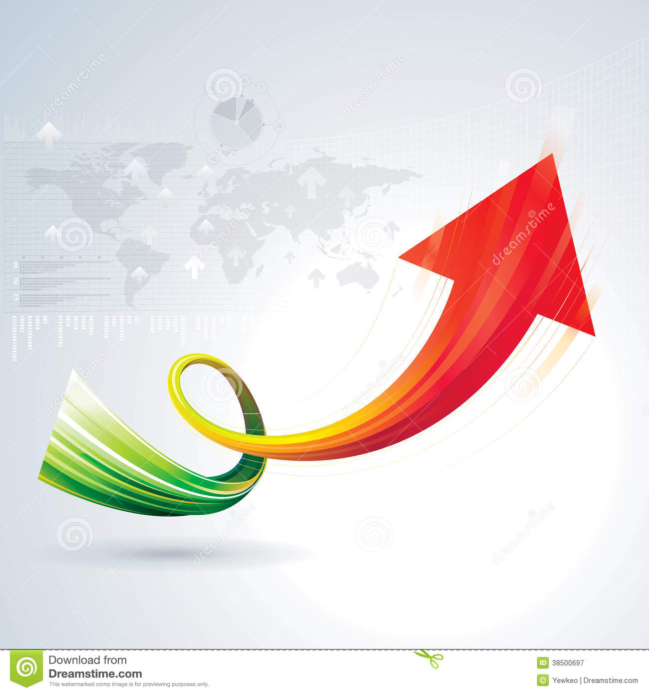 Growth Arrow Royalty Free Stock Photography - Image: 38500697