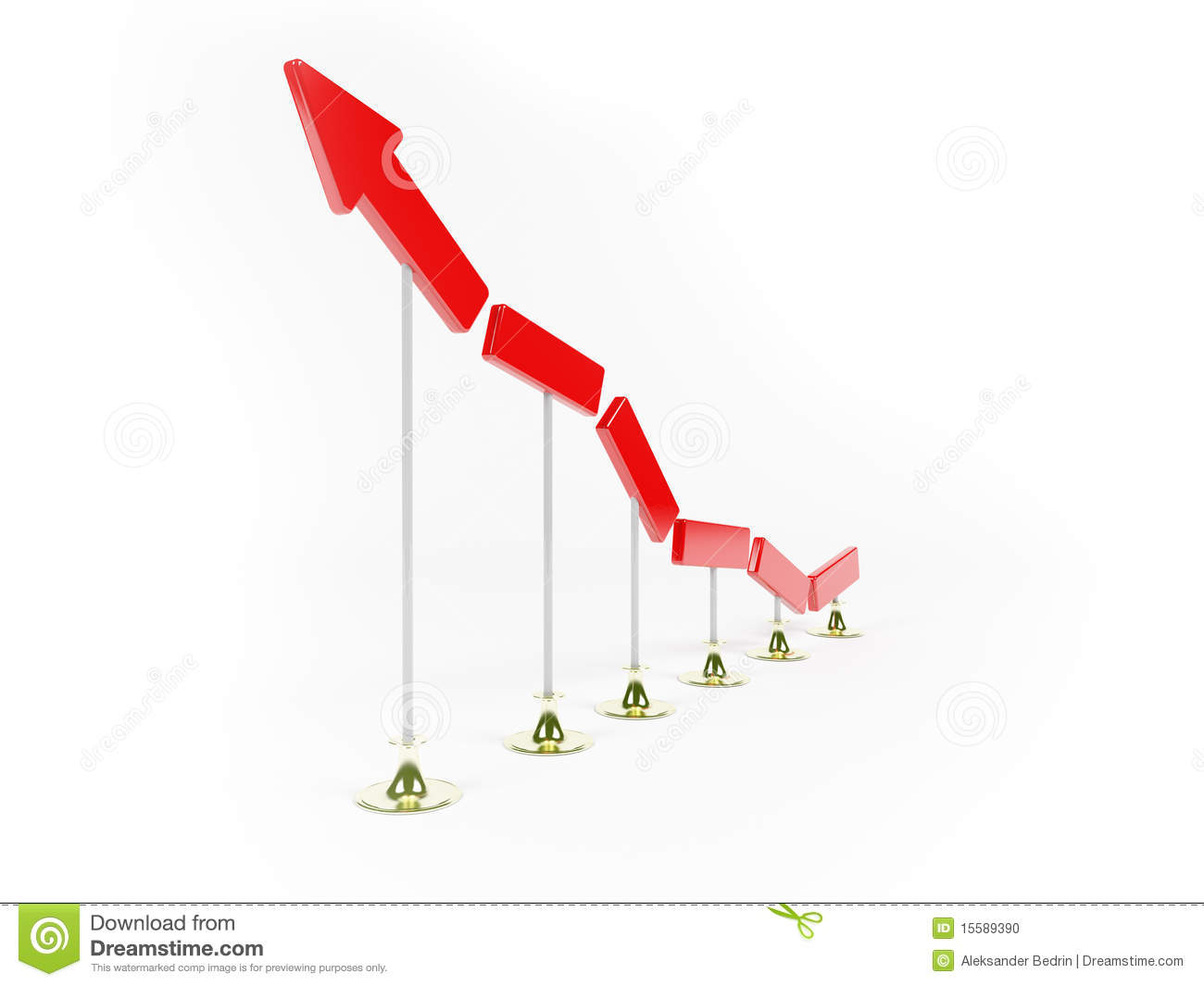 Growth And Development Of Business Stock Illustration ...
