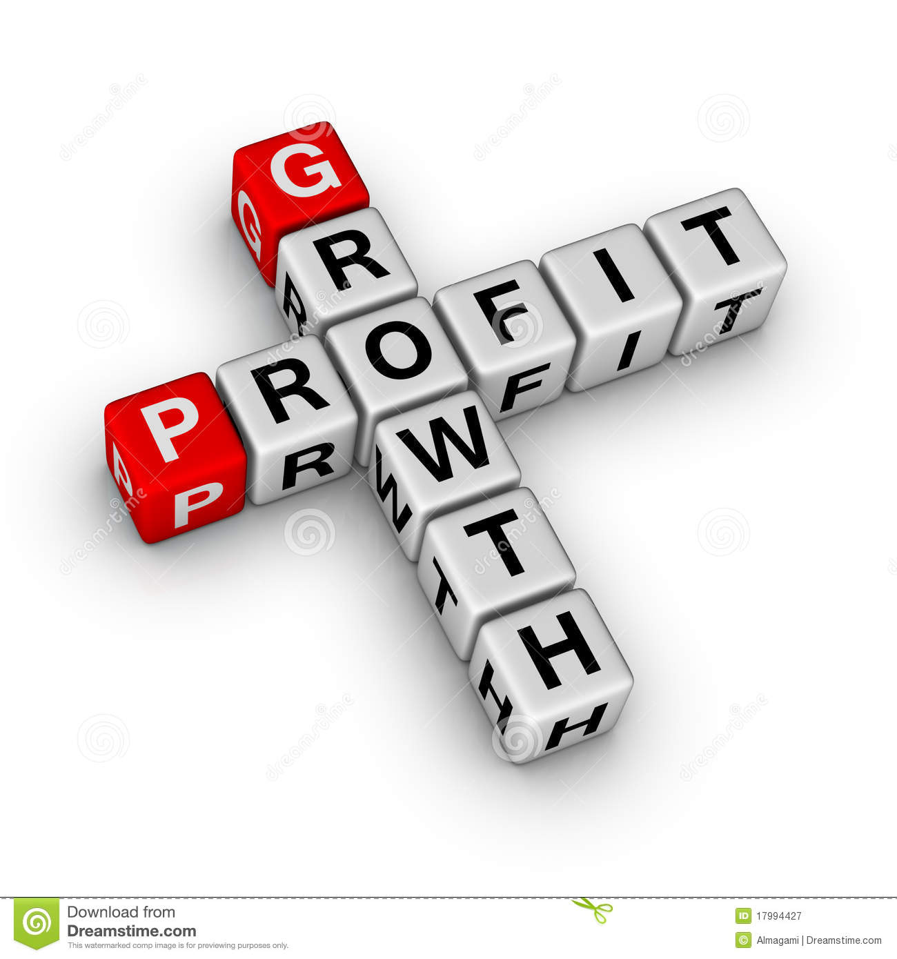 Growth And Profit Royalty Free Stock Photography - Image: 17994427