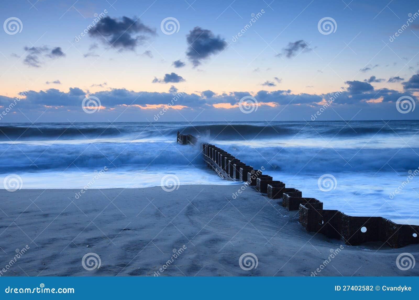 横向鼠蹊(groyne)海洋海滩nc图片