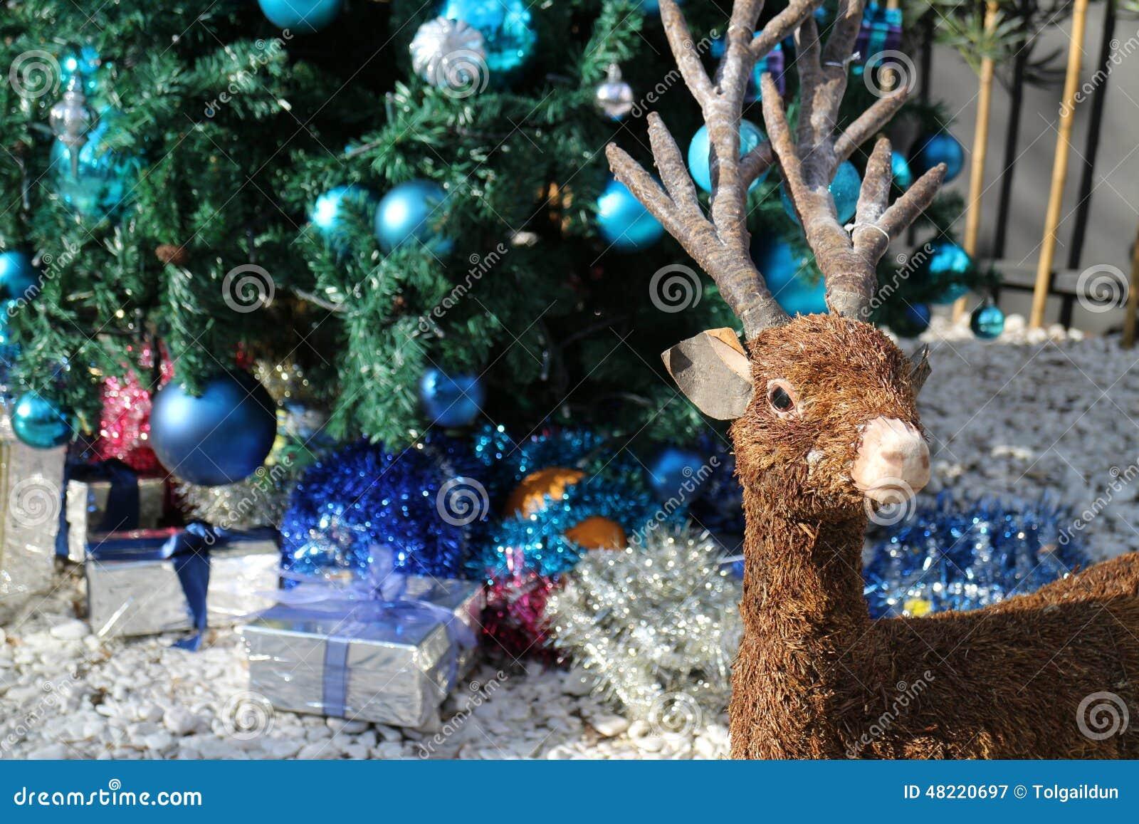 Grußkarte Der Frohen Weihnachten Reden Sie Dekoration Mit ...