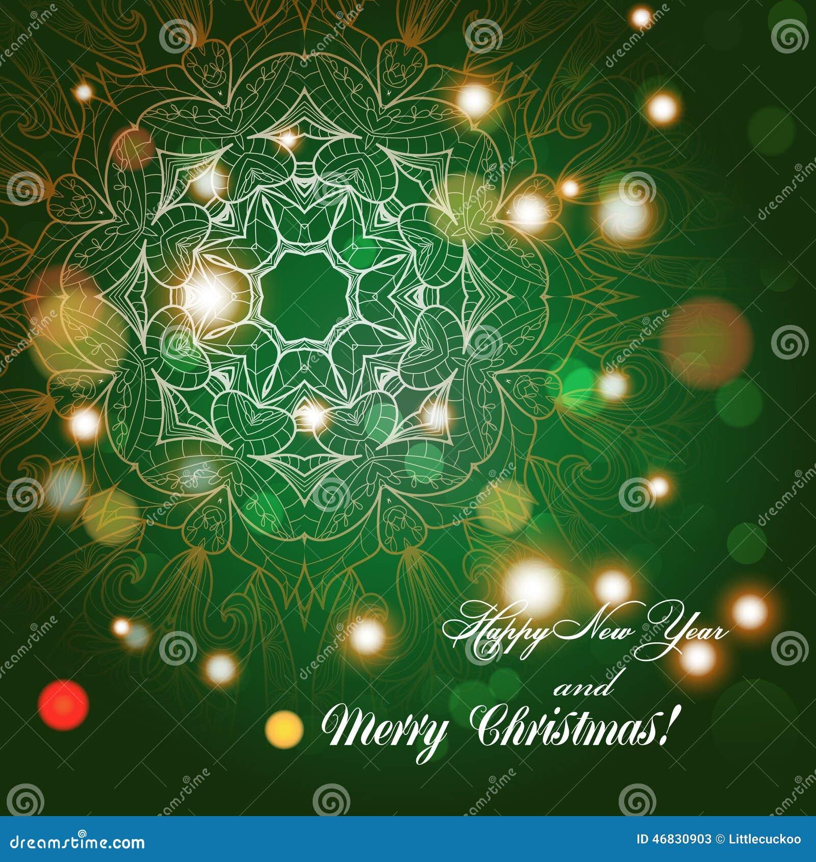 Glückwünsche Zu Weihnachten.Grußkarte Des Neuen Jahres Glückwünsche Auf Weihnachten Von Hand