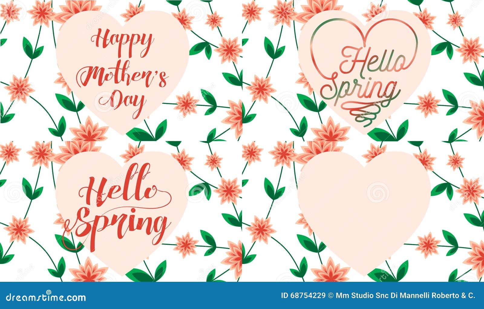 Grußkarte Für Geburtstag, Hochzeit, Heirat, Den Tag Der Mama, Den ...