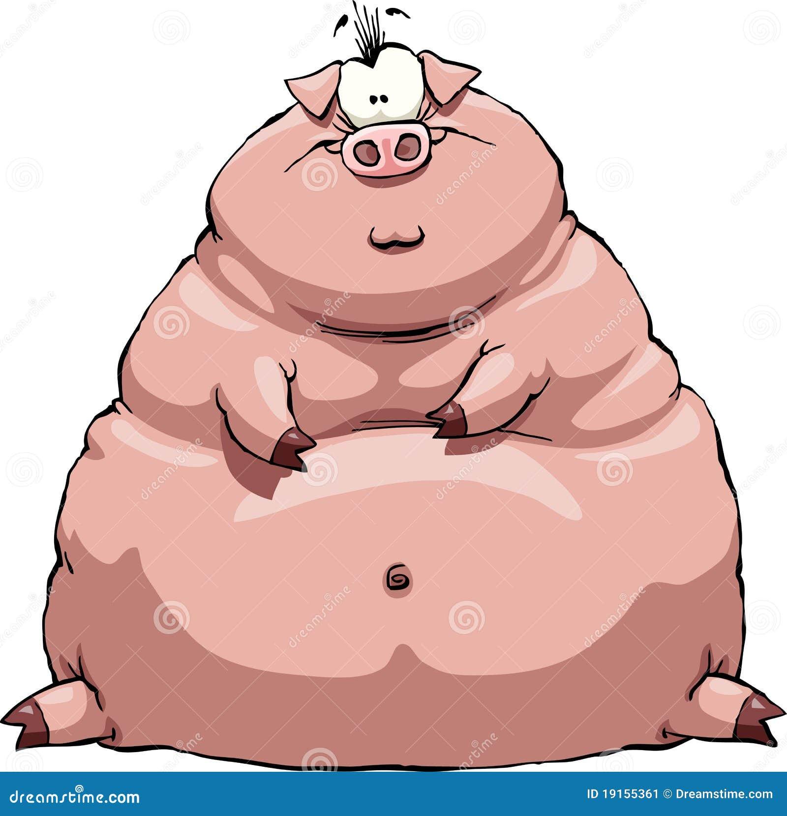 Gruba świnia