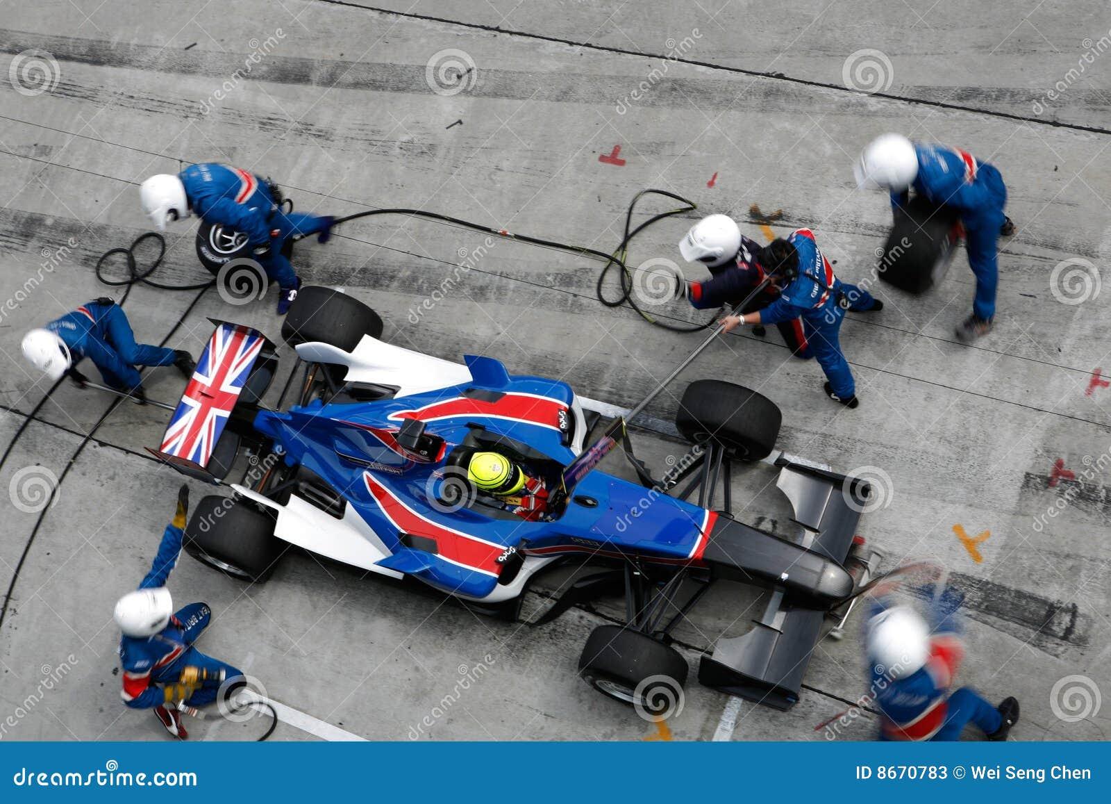 Grubenanschlag Team-Großbritannien-A1
