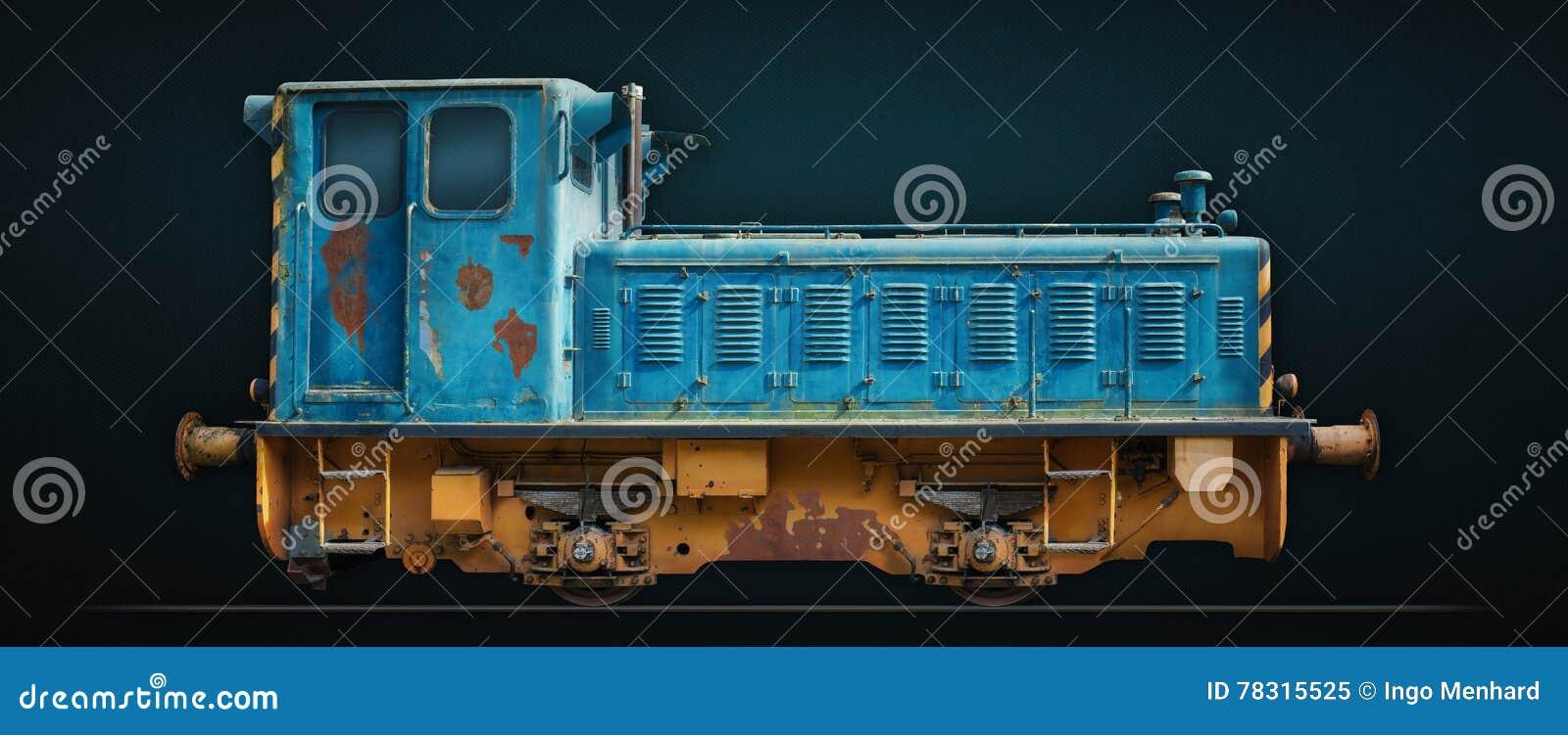 Gruby dama pociąg
