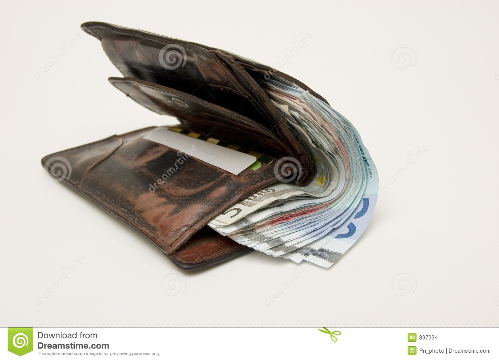Gruby portfel.