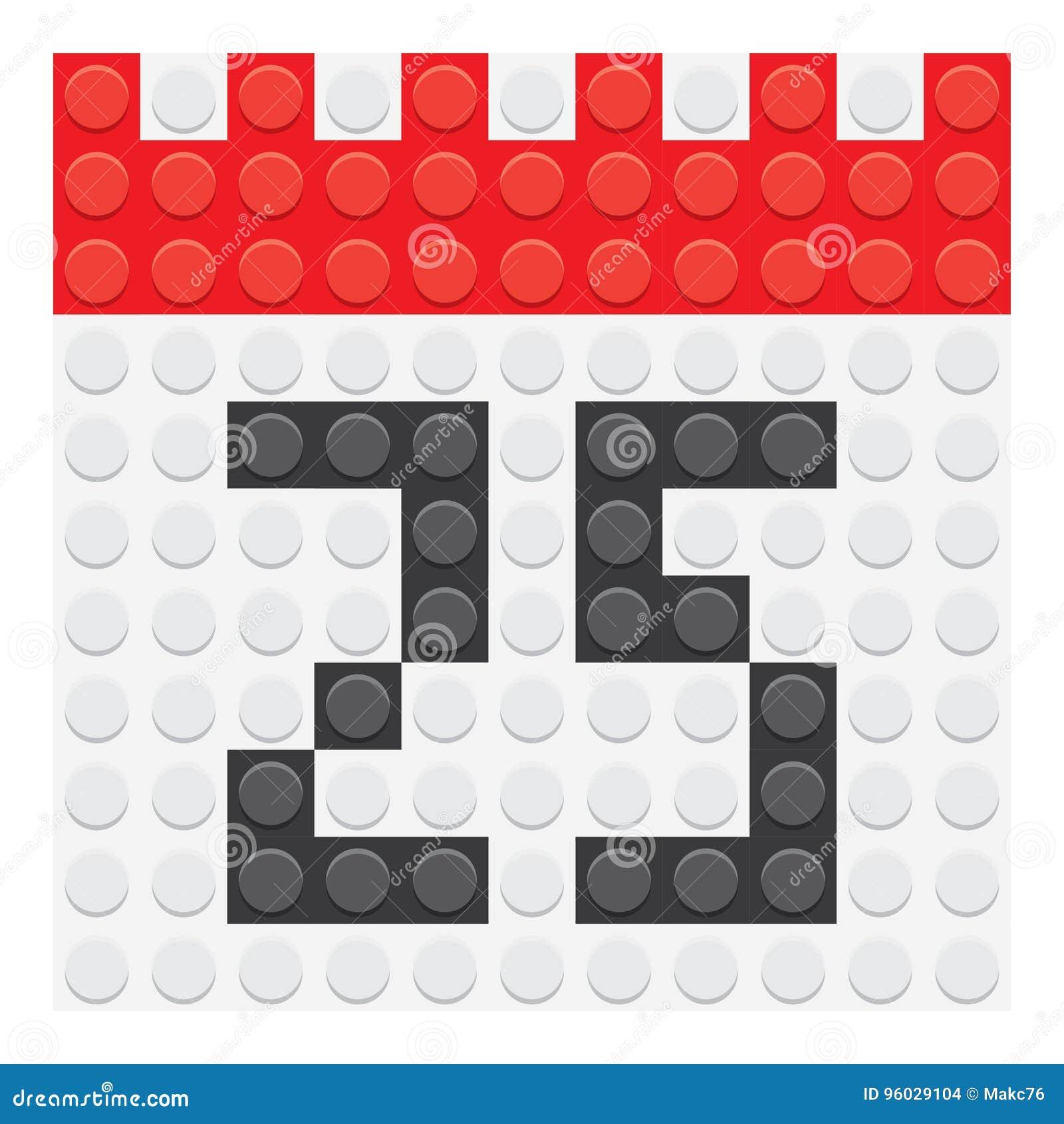 Grudzień 25 kalendarzowa ikona
