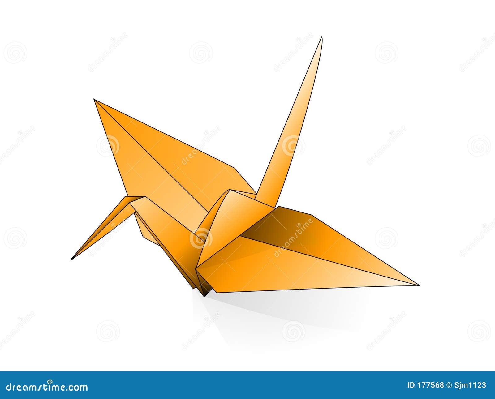 Grue d Origami