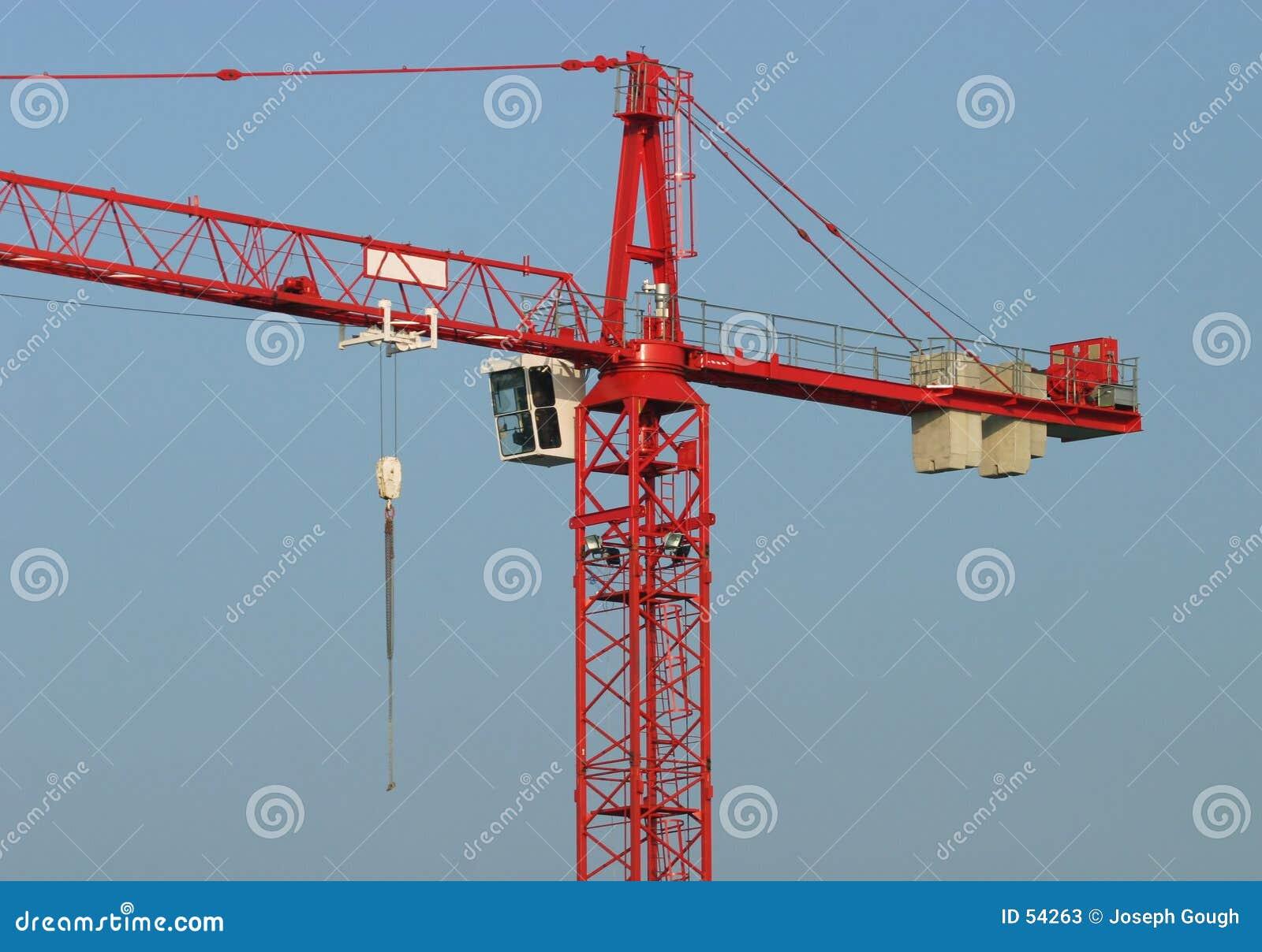 Download Grue de construction image stock. Image du aide, oscillation - 54263