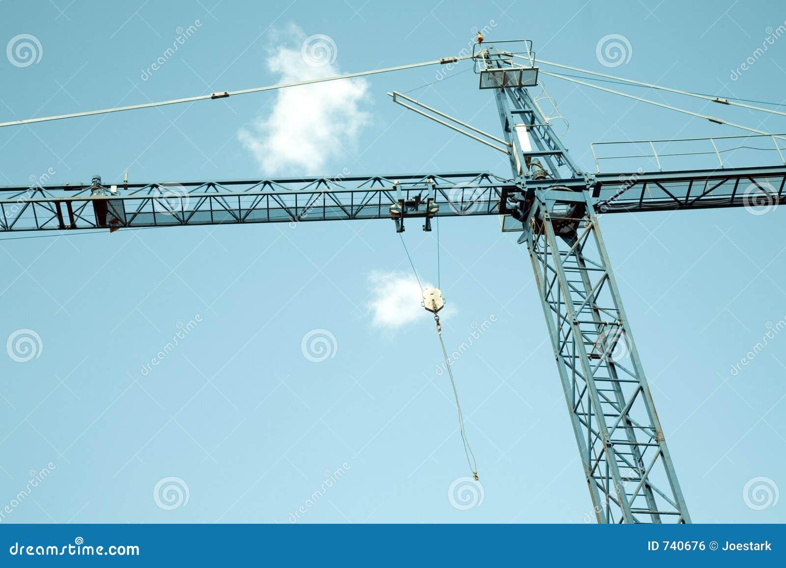 Grue de construction